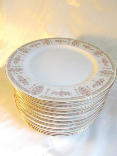 el arcon juego de doce (12) platos playos tsuji 20cm 16008
