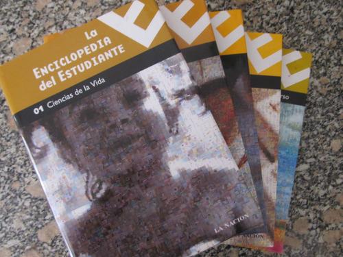 el arcon la enciclopedia del estudiante - 5 tomos
