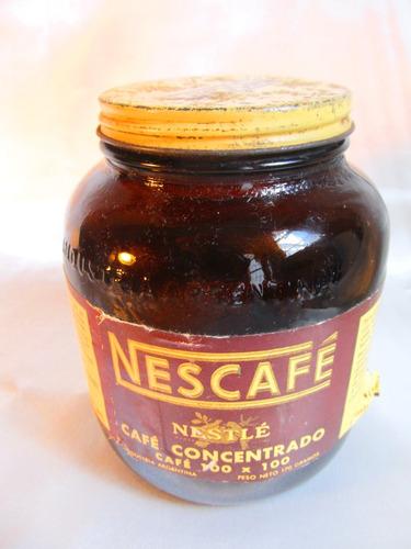 el arcon lata de coleccion cafe concentrado nestle