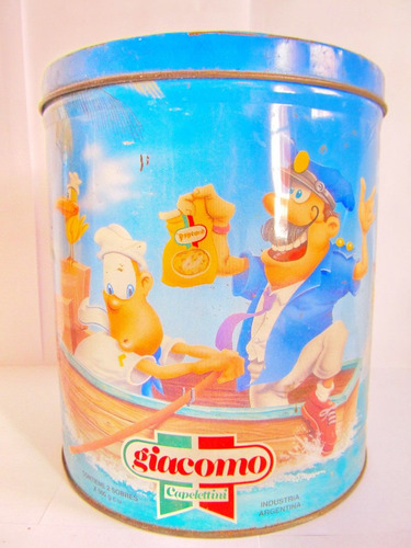 el arcon lata de coleccion giacomo capelettini 20 cm 501