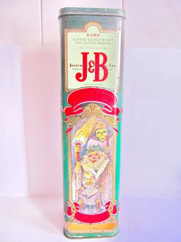 el arcon lata de coleccion scotch whisky jb original 500