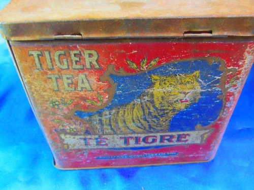 el arcon lata de coleccion te tigre  865