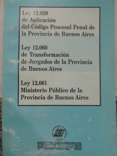 el arcon leyes 12.059, 12.060, y 12.061