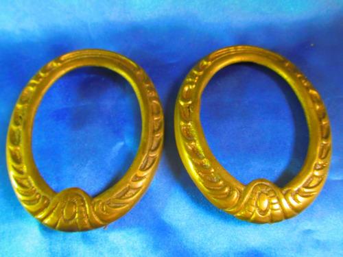 el arcon lote 2 portaretratos de bronce 10078