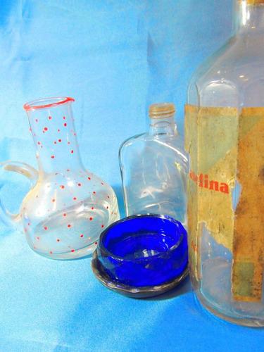 el arcon lote 5 piezas aceitero botellas despojador 11025