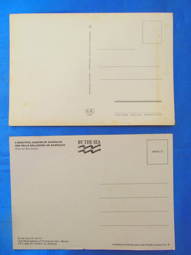 el arcon lote 5 tarjetas postales internacionales  431 03