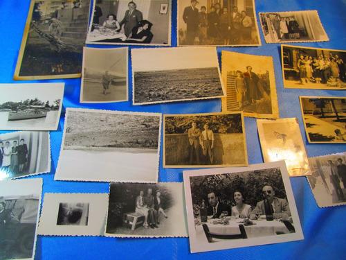 el arcon lote de 100 fotos familiares 1930 - 1960 15001 07
