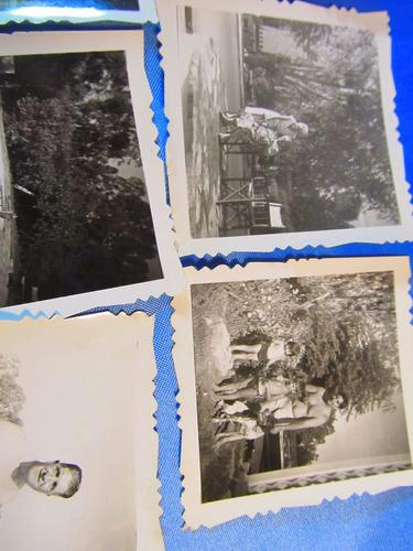 el arcon lote de 12 fotos familiares año 1960  15018