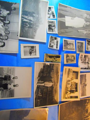 el arcon lote de 15 fotos familiares año 1946 15017