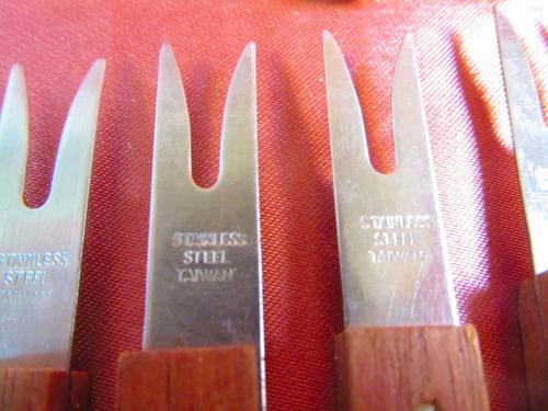 el arcon lote de 17 cubiertos stainless steel + plato 30509
