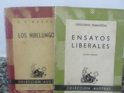 el arcon lote de 2 libros - colección austral.