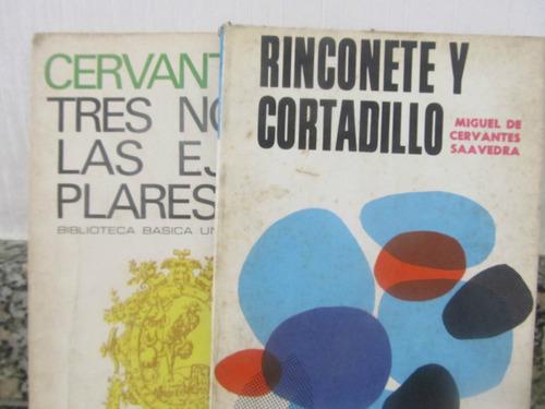 el arcon lote de 2 libros - miguel de cervantes saavedra