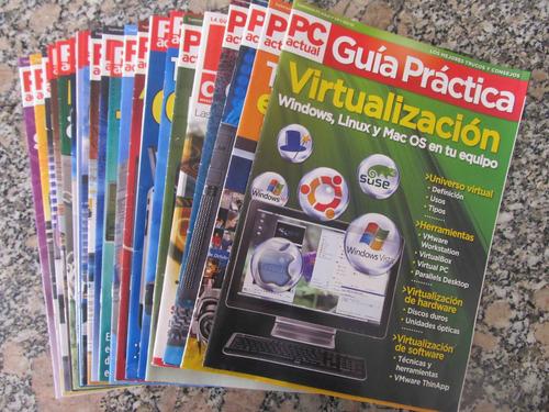 el arcon lote de 21 revistas pc actual - guía práctica.