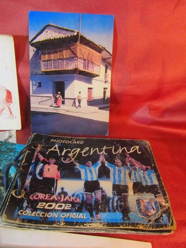 el arcon lote de 22 tarjetas postales de buenos aires 37562
