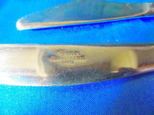 el arcon lote de 3 cubiertos cuchillos y tenedor  19056
