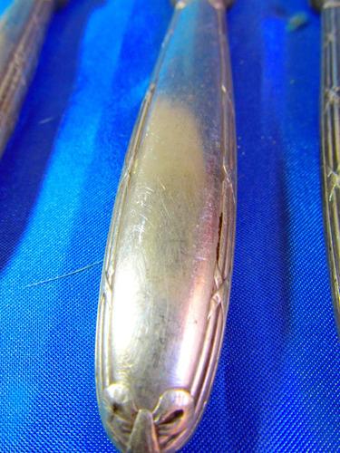 el arcon lote de 3 cuchillos antiguos de christofle 25077