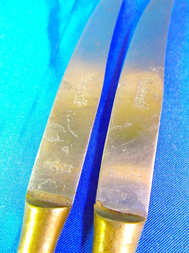 el arcon lote de 3 cuchillos de alpaca 28088