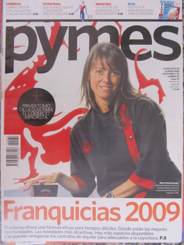 el arcon lote de 3 revistas pymes - clarín