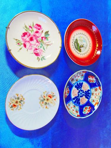 el arcon lote de 4 platos porcelana hartford y mas 26109