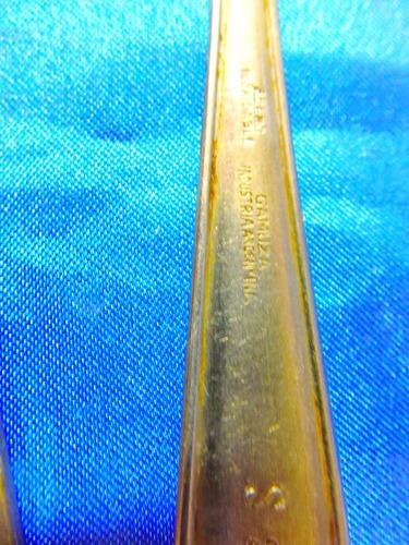 el arcon lote de 6 cucharas de acero soperas varias 28072