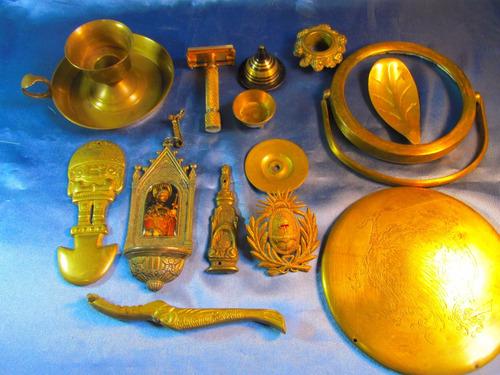 el arcon lote de articulos bronce candelabro adorno 41084