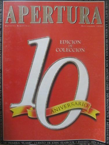 el arcon lote de revistas apertura - 5 revistas