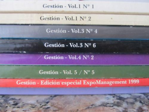 el arcon lote de revistas gestión - 8 revistas