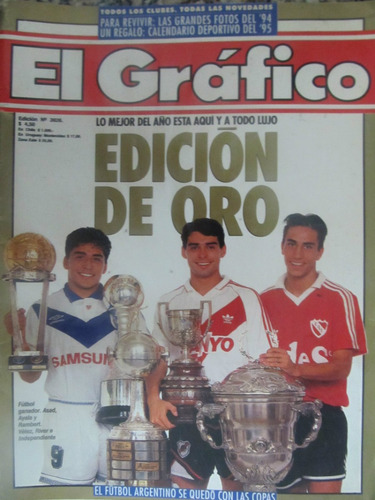 el arcon lote revista de futbol el gráfico - 27 ediciones