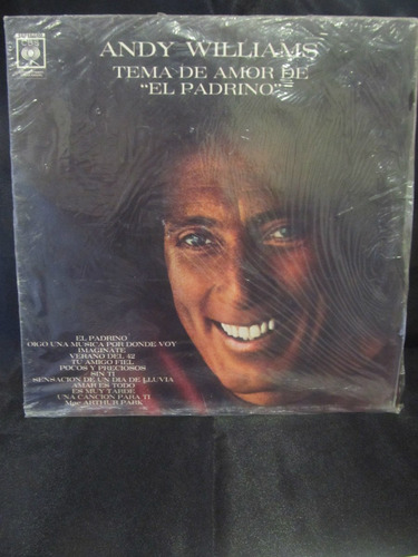 el arcon lp vinilo andy williams - el padrino