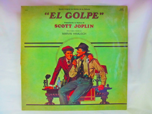 el arcon lp vinilo banda sonora el golpe scott joplin