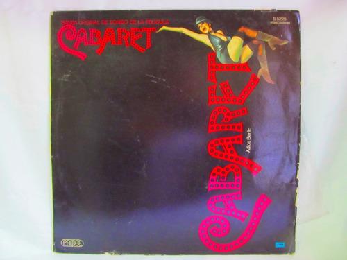 el arcon lp vinilo cabaret adios berlin banda sonora de peli