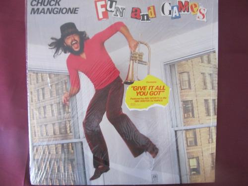 el arcon lp vinilo chuck mangione - fun and games