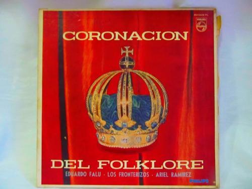 el arcon lp vinilo coronacion del folklore varios autores