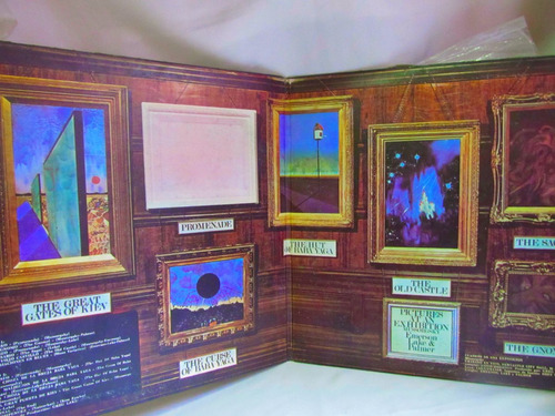el arcon lp vinilo emerson, lake & palmer cuadros exposicion