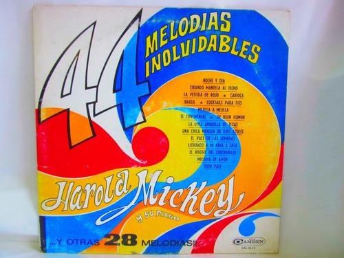 el arcon lp vinilo harola mickey 44 melodias inolvidables