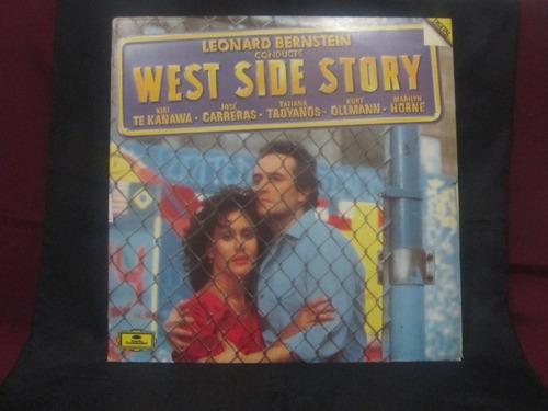 el arcon lp vinilo leonard bernstein - west side story