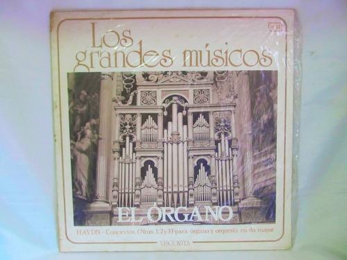 el arcon lp vinilo los grandes musicos el organo haydn