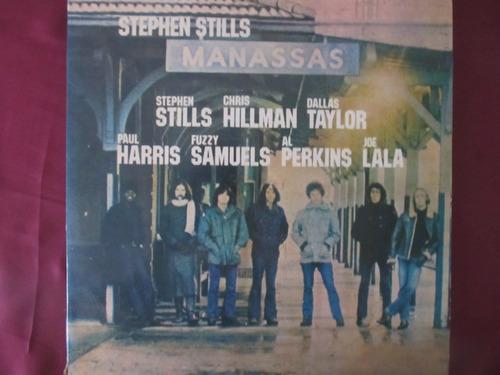 el arcon lp vinilo manassas - stephen stills - 2 discos