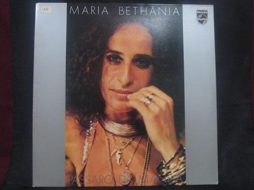 el arcon lp vinilo maria bethania - passaro da manha