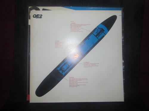 el arcon lp vinilo mike oldfield - qe2 importado