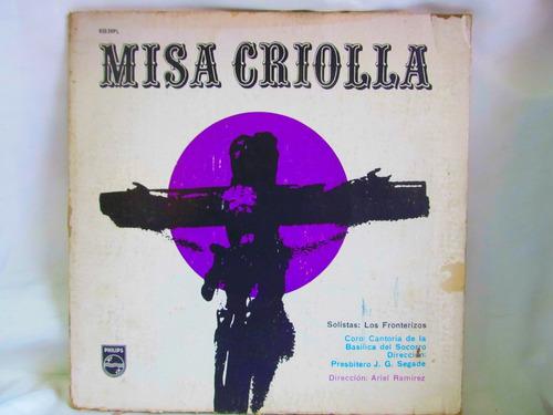 el arcon lp vinilo misa criolla varios autores