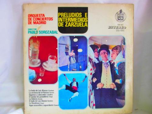 el arcon lp vinilo orquesta de conciertos de madrid sorozaba