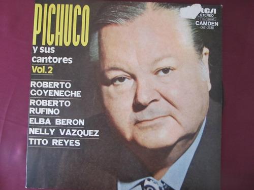 el arcon lp vinilo pichuco y sus cantores - vol. 2
