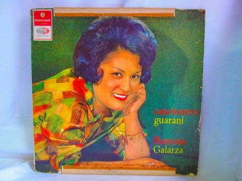 el arcon lp vinilo ramona galarza cancionero guarani vol 8