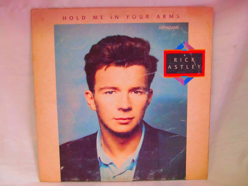 el arcon lp vinilo rick astley hold me in your arms