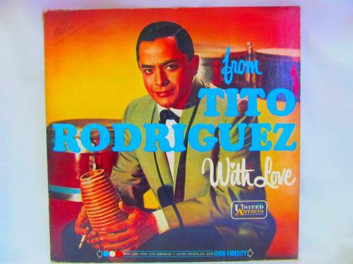 el arcon lp vinilo tito rodriguez with love