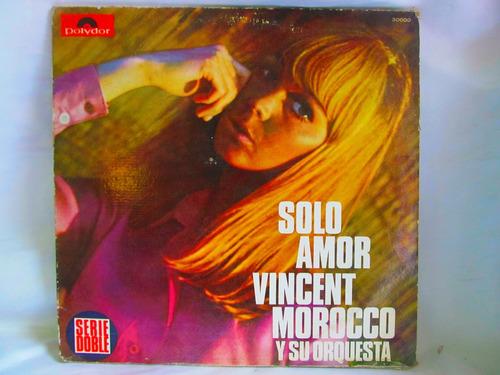 el arcon lp vinilo vincent morocco y su orquesta solo amor