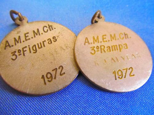 el arcon medalla deporte marchiquita 1972 r. alvear  380 07