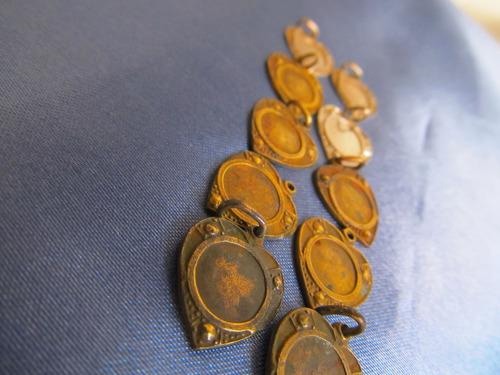 el arcon medallas dijes en forma de corazon pequeños 381 26