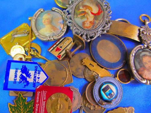 el arcon medallas dijes para grabar circulo con flor 381 57